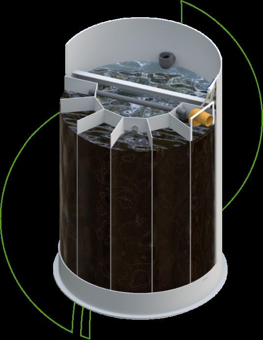 biotornato konstrukcija