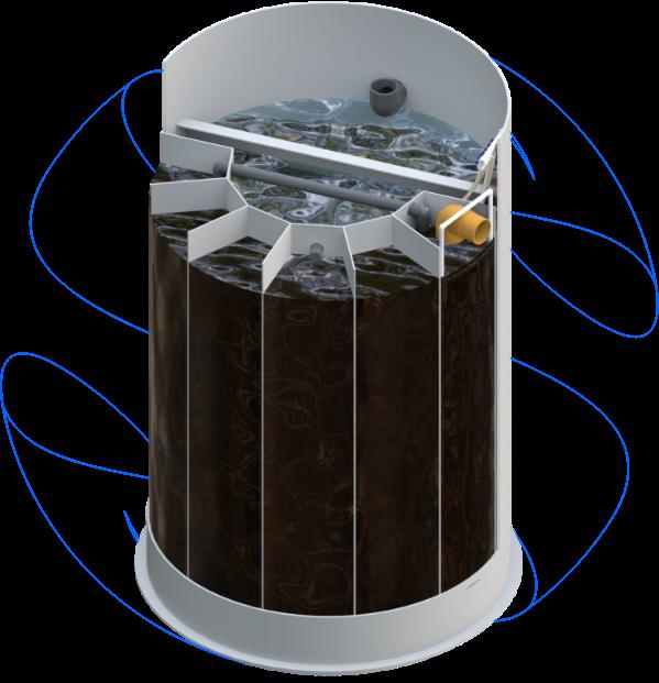biotornato valymo irenginys